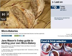 Virtuous Bread and others discuss the rise of microbakeries in the UK with Sheila Dillon