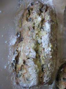 Baking stollen in London