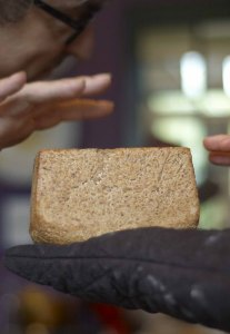 Bread is done when it sounds hollow
