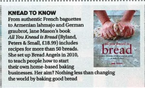 All You Knead Is Bread in Stella Magazine 1