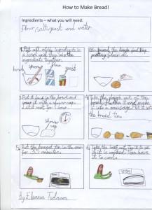 Baking with children at Sarum Hall School 6