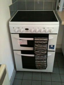Our little oven!  It would be great to get a slightly bigger one - but we need some sponsors!