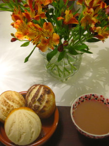 Conchas for tea