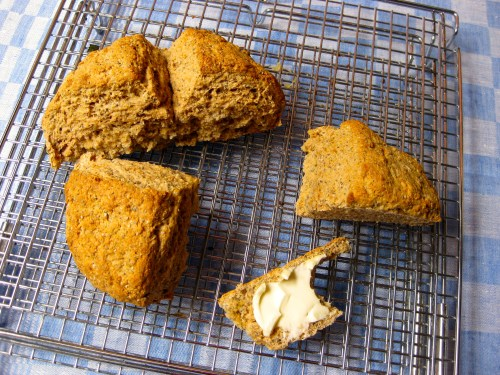 Soda bread - perfect for sharing - from the Basic Bread class