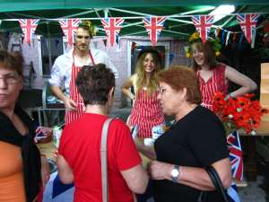 The Bread Angels stall at the festival!