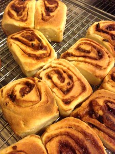 Hand made buns