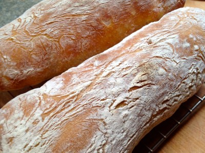 Permalink to: How to bake the perfect ciabatta – comparing four great ciabatta recipes