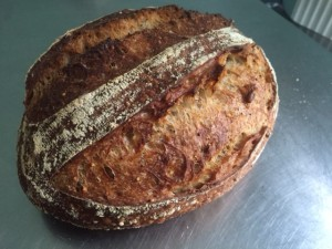 Silver winner, oange and fennel sourdough by Juli Farkas of Our Bread bakery