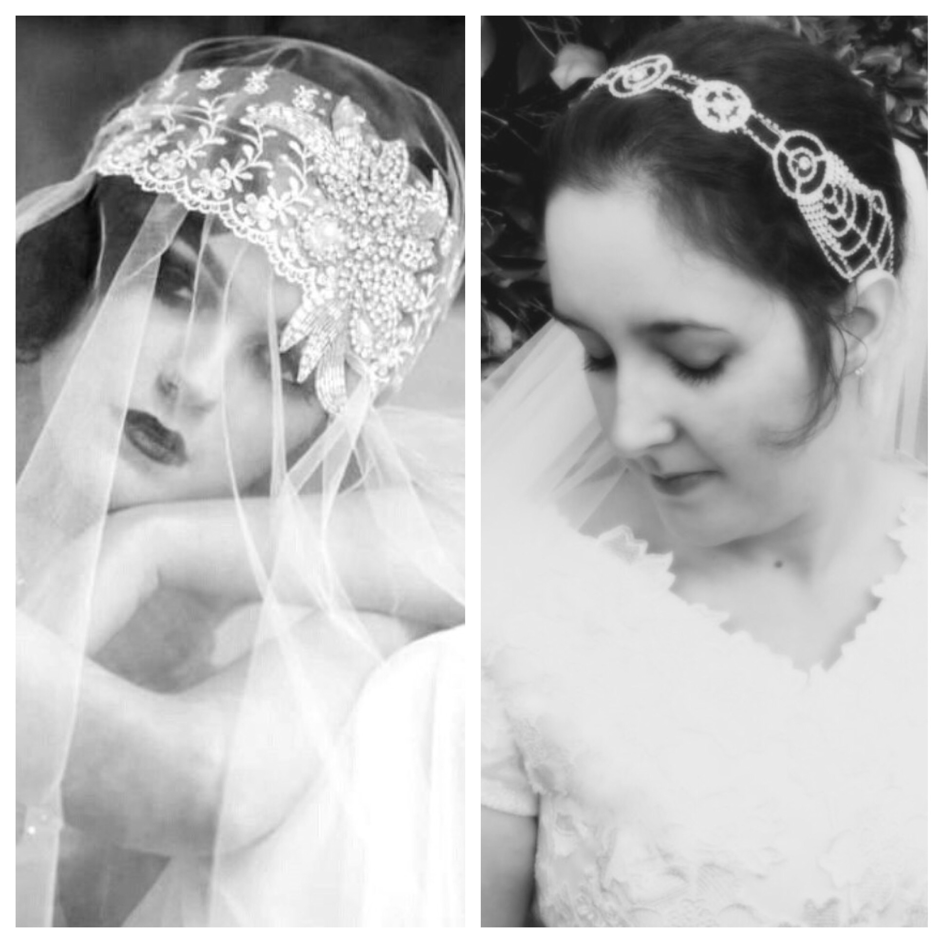 Antique & Vintage Inspired Bridal Headpieces