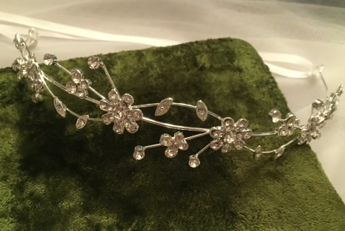 Rose Bridal Headband