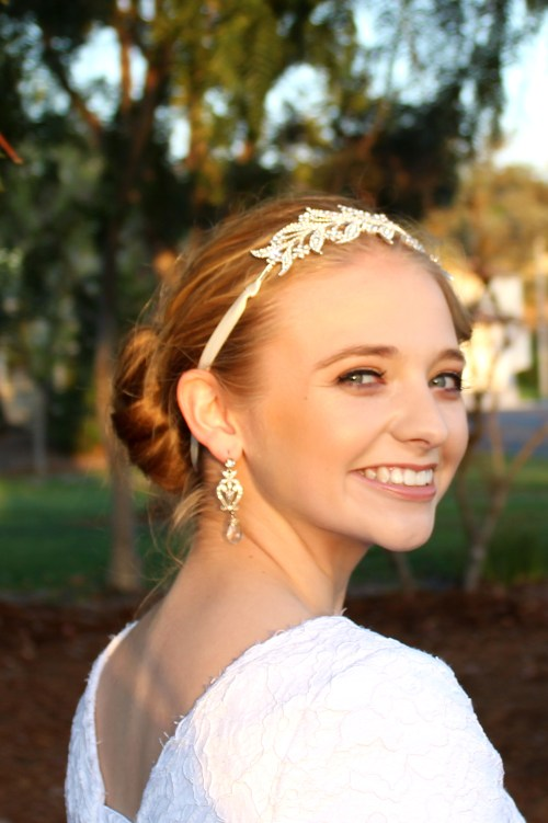 Helena Vintage Inspired Bridal Headpiece