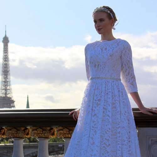 Tznius-Champagne-White-Lace-Modest-Wedding-Dress