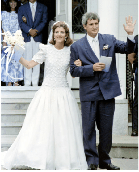 Caroline Kennedy Modest Wedding Dress