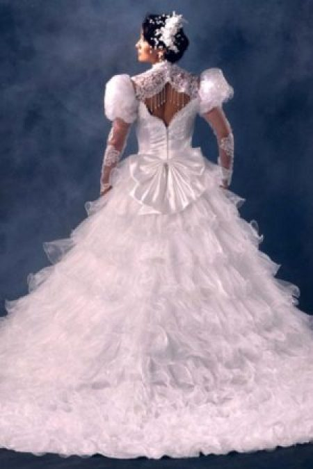 Terrible 1980's Wedding Dress