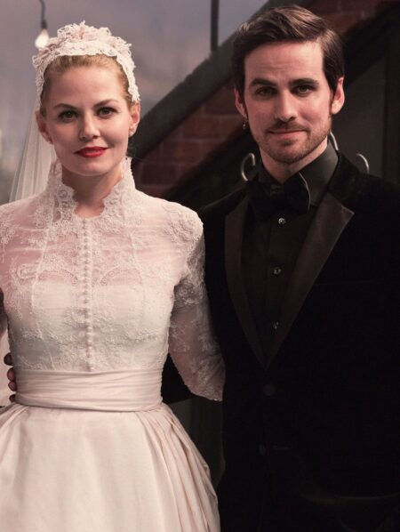Emma Once Upon Time Grace Kelly Inspired Wedding Dress