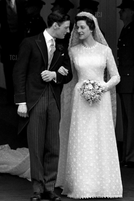 Princess Alexandra of Kent John Cavanagh Modest Royal Wedding Dress