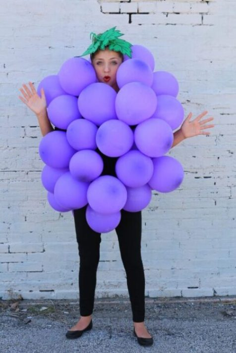 Bunch of Grapes Modest Halloween Costume