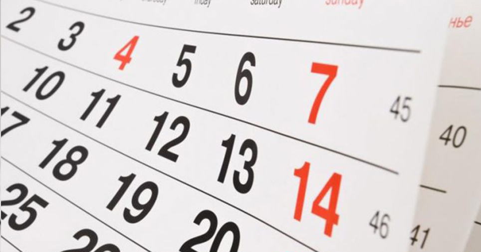 Calendario Gare