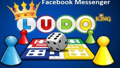 Ludo Club Game play in Messenger