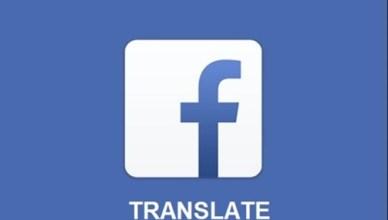 Facebook Translate features
