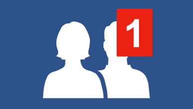 View Pending Facebook friend Request