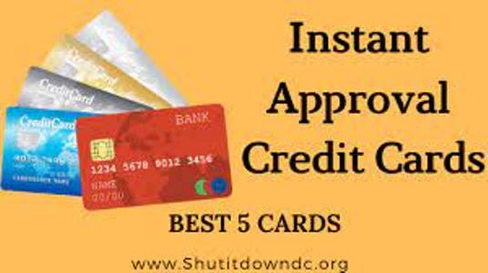 Instant Credit Card Approval – Easy Credit Card Approval - Visaflux