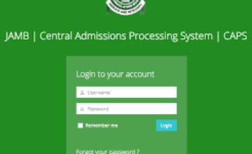 JAMB CAPS: How to Accept or Reject Admission Offer