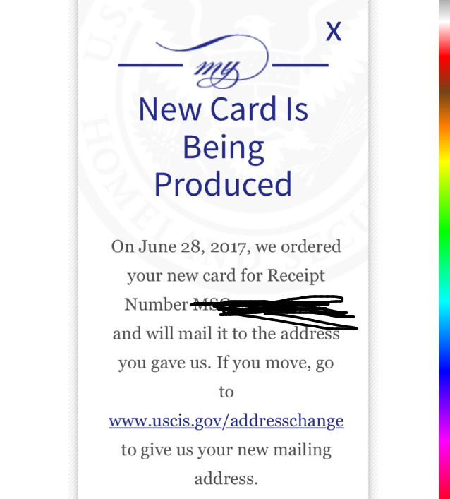 New Card Is Being Produced I 485 Timeline | Gemescool org