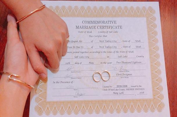 Chuẩn bị và sắp xếp hồ sơ phỏng vấn kết hôn Mỹ