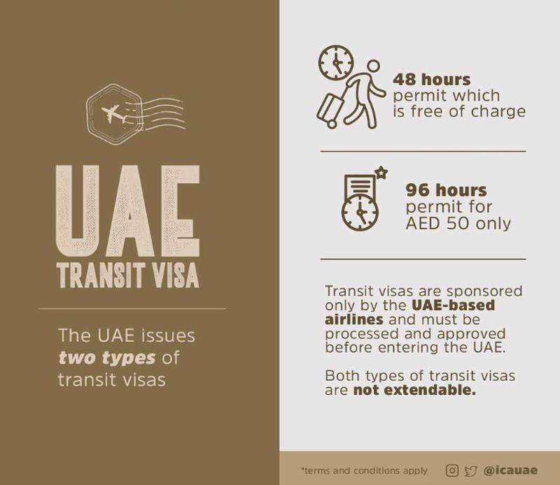 However, Indian nationals with a green card from the US, or a residency visa from the UK or European Union do not need to apply for a transit visa, and can stay up to a period of 14 days in the UAE.