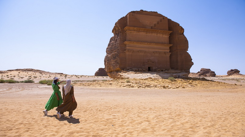 Saudi's historic sites appear to be an important attraction for tourists to the Kingdom.
