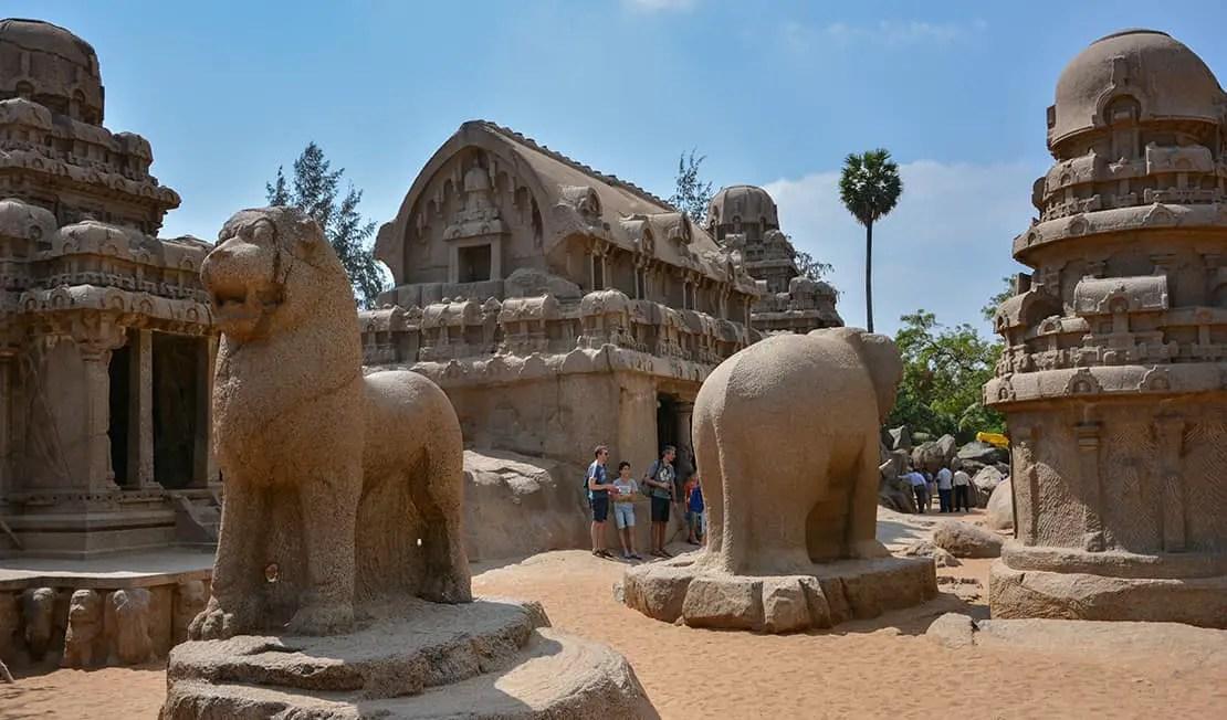 mamallapuram travel guide pancha radhas