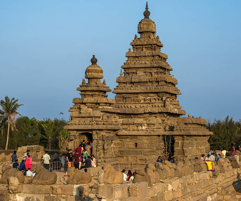 the shore temple in mamallapuram
