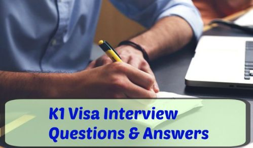 You can prepare for the K1 interview with sample questions and answers. Be sure to rehearse the important topics. Don't waste time with random questions. Focus on the 6 important categories.