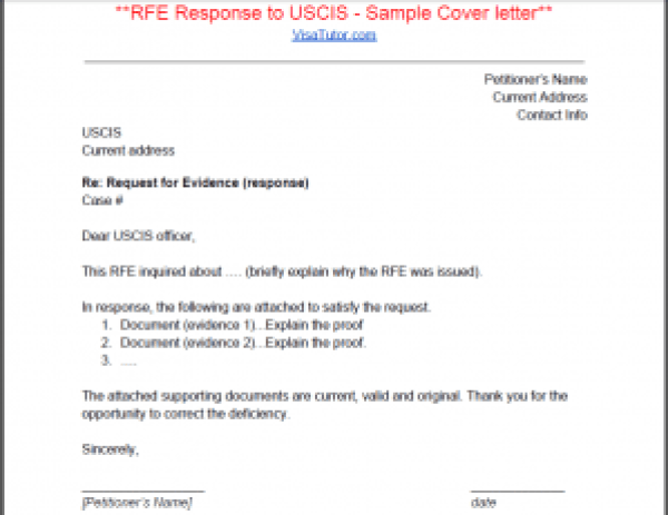 I 129f request for evidence rfe visa tutor rfe response sample cover letter for the i 129f fiance k1 visa spiritdancerdesigns Image collections