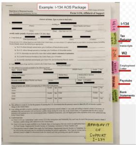 K-1 Fiance(e) Visa – Affidavit of Support (form I-134) « Visa Tutor
