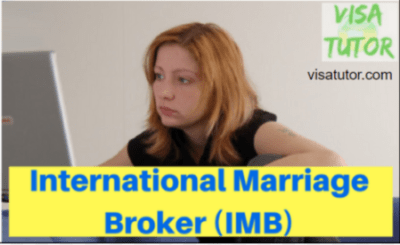 If you met your k1 fiance online through an IMB, here is how you comply with IMBRA rules