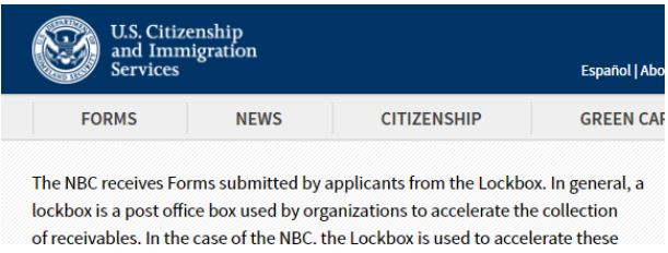 The USCIS Lockbox facilities office of intake performs basic functions with your I-129F petition for a fiance