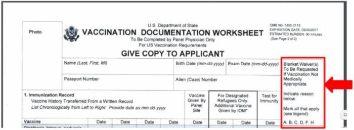 K-1 visa Vaccinations Requirements and Process « Visa Tutor