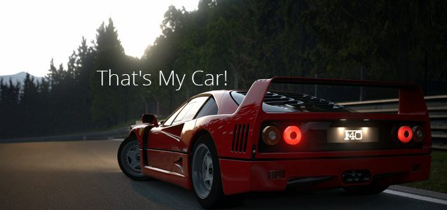 That's My Car!