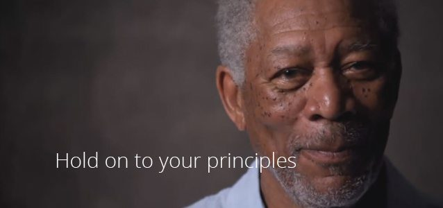 Hold on to Your Principles