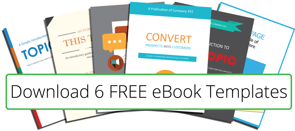 6 Free eBook Templates