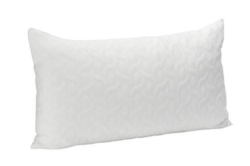Pikolin Home – Almohada de copos viscoelásticos con tratamiento Aloe Vera , 40 x 75 cm, altura 17 cm