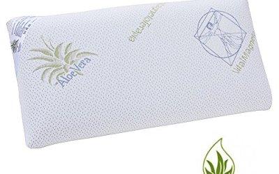 Almohada Viscoelástica Viscoelastico Visco 70cms de primera calidad,Tejido Aloe Vera – OFERTA EXCLUSIVA ALMOHADAS (105 cm)