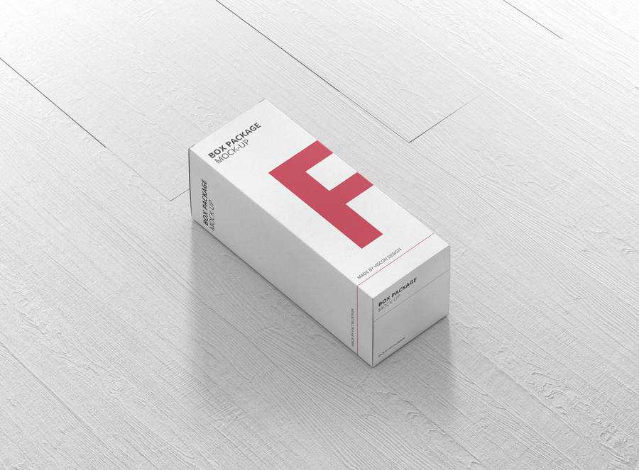 Download Package Box Mock-Up - High Rectangle - Premium and Free ...