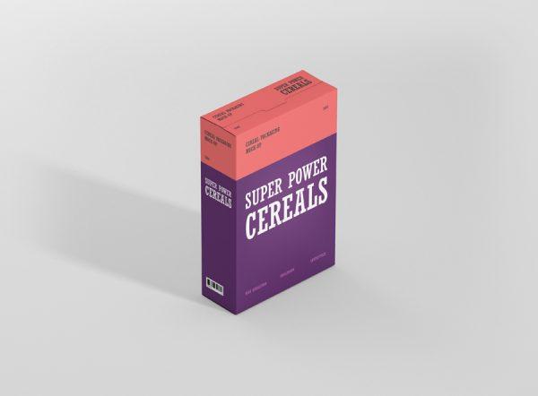 Download Cereals Box Mockup - Premium and Free Mockups