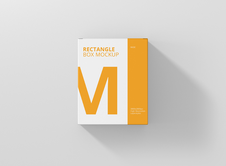 Download Box Mockup High Rectangle Big Size - Premium and Free Mockups