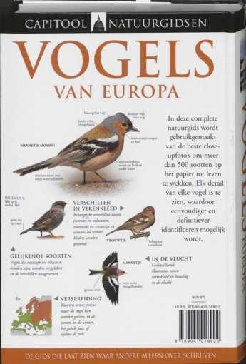 vogels van europa rob hume