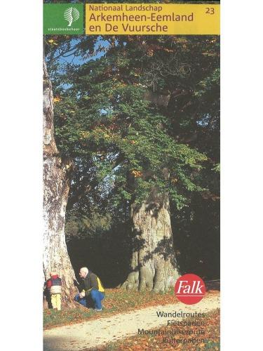 Wandelkaart Nationaal landschap Arkemheen-Eemland en De Vuursche