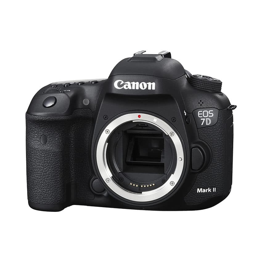 #4. Canon EOS 7D Mark II DSLR